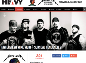 Interview - Mike Muir Suicidal Tendencies